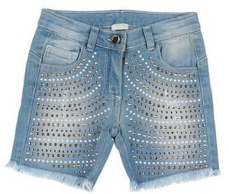 MICROBE by MISS GRANT Denim shorts