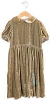 Chloé Girls' Velvet Draped Dress w/ Tags