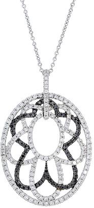 Diamond Select Cuts Nephora 14K 1.35 Ct. Tw. Diamond Pendant Necklace