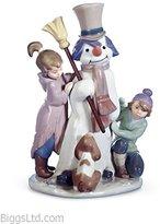 Lladro The Snow Man