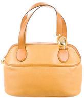 Christian Dior Leather Handle Bag