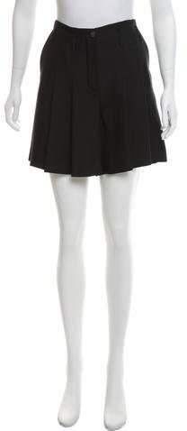 Chanel Silk Pleated Skirt w/ Tags