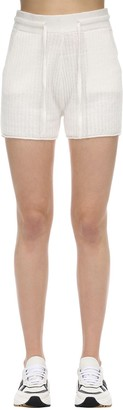 Falke Linen & Silk Blend Milano Knit Shorts