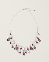 Coldwater Creek Teardrop illusion necklace