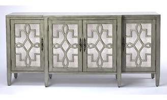 One Allium Way Conn Olive Gray Mirrored Sideboard One Allium Way