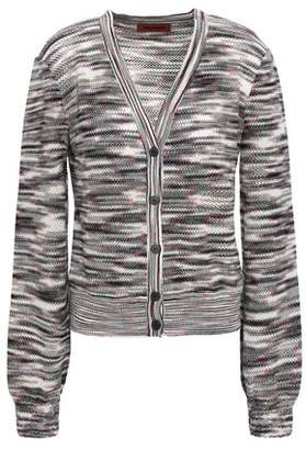 Missoni Marled Crochet-knit Wool Cardigan