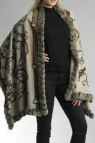 Diana Cashmere Fox Wrap