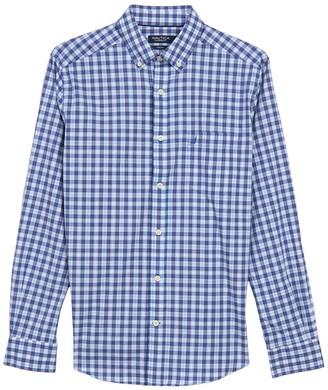 Nautica Check Print Long Sleeve Shirt