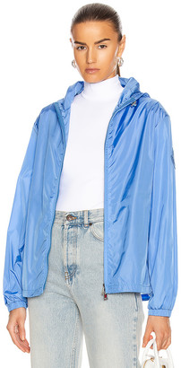 Moncler Alexandrite Giubbotto Jacket in Blue | FWRD