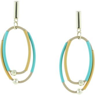 Olivia Welles Selma Multi Strand Cord Earrings