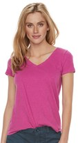 SONOMA Goods for Life Women's SONOMA Goods for LifeTM Essential V-Neck Tee