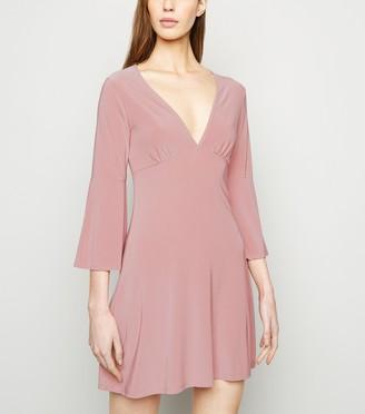 New Look Urban Bliss V Neck Mini Dress