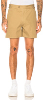 Maison Margiela Cotton Gabardine Shorts in Neutrals.