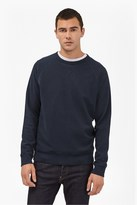 French Connection Winter Pique Raglan Sleeve Sweatshirt