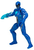 Power Rangers Power Ranger Figures Movie Action Hero - Blue Ranger Figure