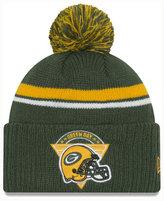 New Era Green Bay Packers Diamond Stacker Knit Hat