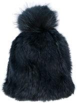 Yves Salomon fuzzy hat