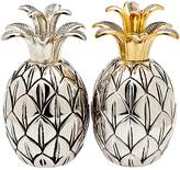 Godinger Pineapple-Shaped Salt and Pepper Shakers (Set of 2)
