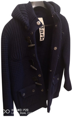 Bark Blue Wool Jackets