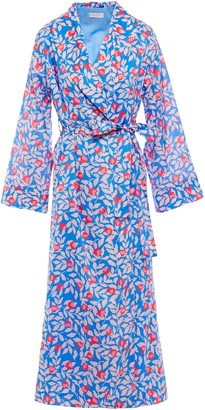 Yolke Printed Cotton Robe
