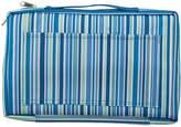Sabichi Blue Stripe 2 Wheel Trolley