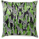 Kate Spade Giraffe Silk & Cotton Square Feather Pillow