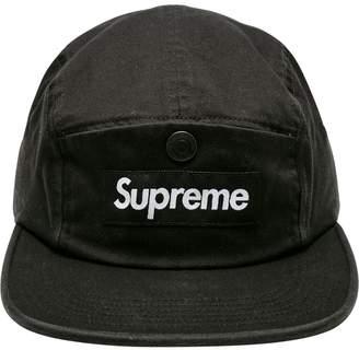 Supreme snap button camp cap