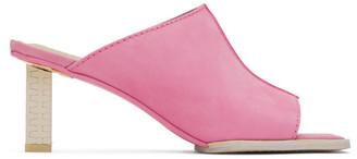 Jacquemus Pink Les Mules Carino Mules