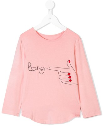 Wauw Capow By Bangbang Graphic Print Long-Sleeve Top