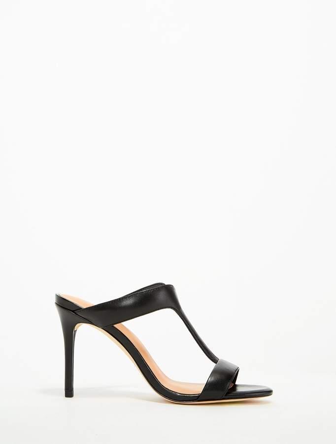 Halston Arya Leather High Heel Sandal