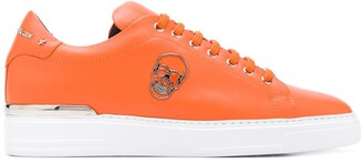 Philipp Plein Skull-Motif Low-Top Sneakers