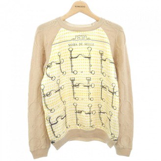 Hermes Beige Wool Knitwear for Women