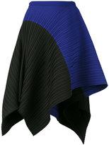 Proenza Schouler asymmetrical pleated skirt - women - Polyester/Spandex/Elastane - 4