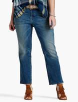 Lucky Brand Plus Size Georgia Petite Straight Leg Jean In Sarasota