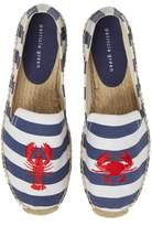 Patricia Green Embroidered Lobster & Crab Espadrille Flat