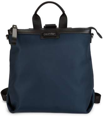 Calvin Klein Convertible Nylon Backpack
