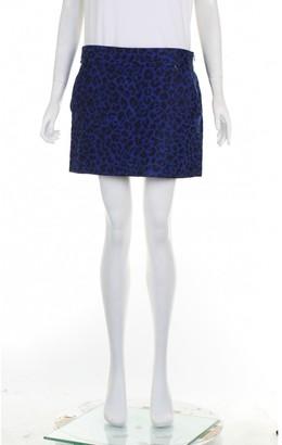 3.1 Phillip Lim Blue Cotton Skirt for Women