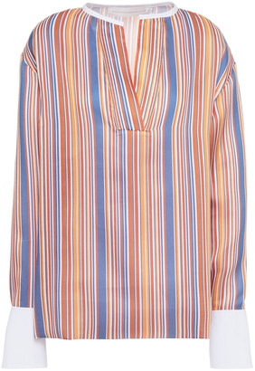 Victoria Victoria Beckham Striped Woven Top