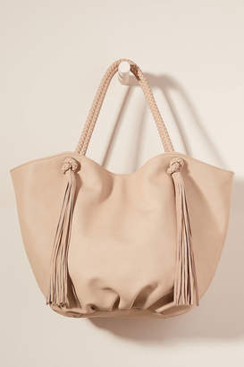 Anthropologie Morgan Tasseled Tote Bag