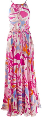 Emilio Pucci Printed Long Dress