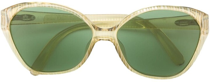 Christian Dior Pre-Owned Cat Eye Frame Sunglasses