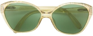 Christian Dior Pre-Owned Cat Eye Frame Sunglasses