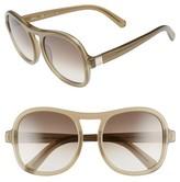 Chloé Women's Marlow 56Mm Gradient Lens Sunglasses - Caramel