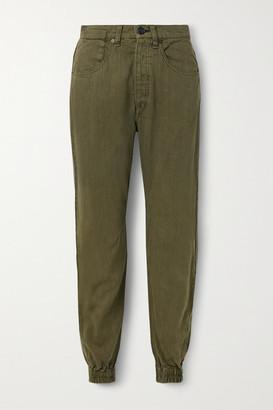 Rag & Bone Denim Track Pants - Army green