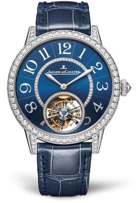 Jaeger-LeCoultre Jaeger Lecoultre White Gold and Diamond Rendez-Vous Tourbillon Watch 39mm