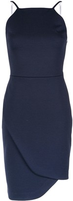 Gloria Coelho Asymmetric Short Dress