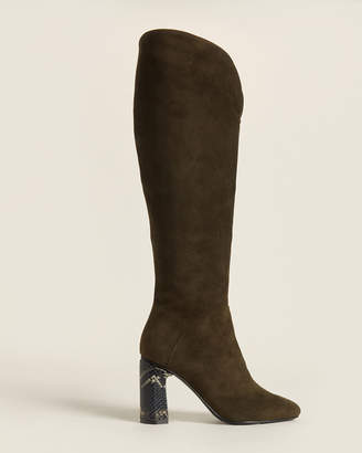 Sigerson Morrison Anetone Barretta Tall Suede Boots