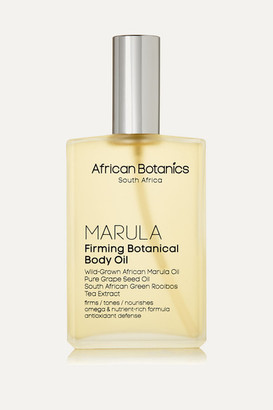 African Botanics Marula Firming Botanical Body Oil, 100ml - Colorless