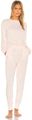Flora Nikrooz Lotus Brush Knit PJ Set