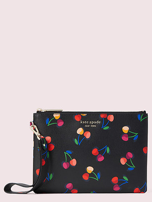 Kate Spade Spencer Cherries Small Pouch Wristlet